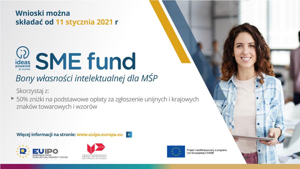SME fund - Bony własności intelektualnej dla małych i średnich przedsiębiorstw